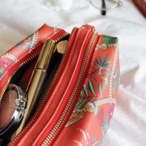 Essential Wash Bag | Golden Tassel – Burgundy