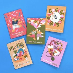 Contemporary Mixed Occasion Greeting Card Bundle - Judit Cards Group 500x500
