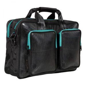 Laptop bag Mountain Panda – Turquoise