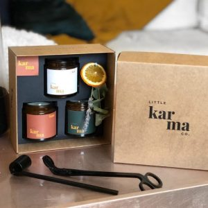 discovery set | scented candle trio gift set