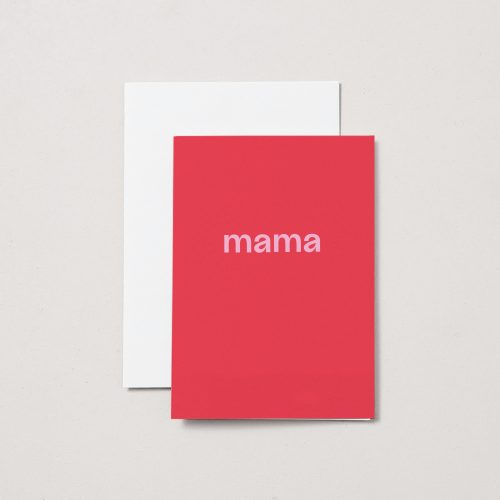 Mama – A6 Greeting Card