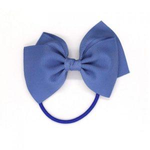 Medium Bow Elastic – Smoke Blue