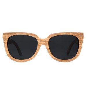 Phoenix – eco friendly 10% wooden cat-eye sunglasses