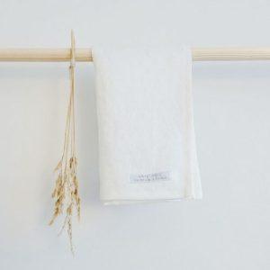 Kitchen Towel Linen White