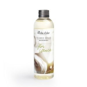 Reed Diffuser Refill White Flowers 200 ml - Pack of 4 - Recambio Mikado Ambients Flor Blanca Rattan 0139323 500x500