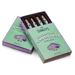 Gentlemen's Club Chocolate Cigars (Milk Chocolate Cigars) - STAN012 GentlemensClubChocCigar Display 500x500