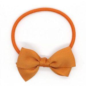 Small Bow Elastic - Ginger - Smallbowelastic Ocre LR 1024x1024 500x500