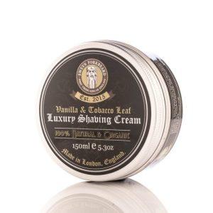 Vanilla & Tobacco Leaf Luxury Shaving Cream 150ml