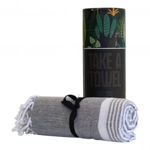 Take A Towel Hammam towel Fouta Black Leopard TAT 3-3