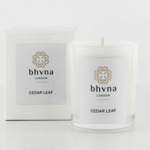 Cedar Leaf Travel Candle – 9cl