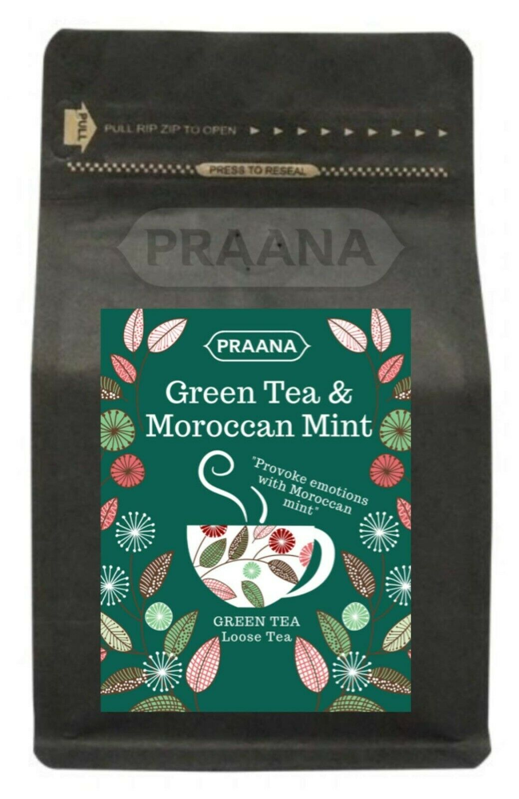 Green Tea with Moroccan Mint – Retail Pack 100g ( Pack of 6)