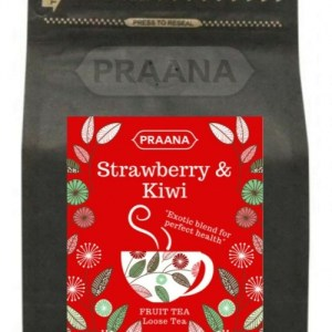 Strawberry & Kiwi Fruit Tea – Retail Pack 100g ( Pack of 6)