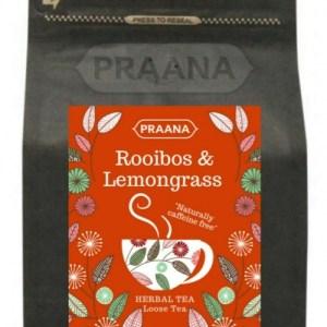 Rooibos & Lemongrass Herbal Tea – Retail Pack 100g ( Pack of 6)