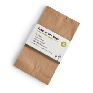 Compostable Food Waste Paper Bags - ecoLiving food waste bags 500x500