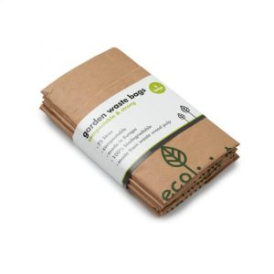 Compostable Garden Waste Bags - ecoLiving garden waste bags paper uk 500x500
