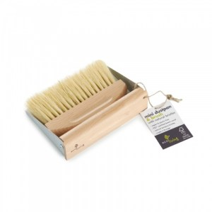 Mini Dustpan Set (100% FSC) - ecoLiving mini dustpan 500x500
