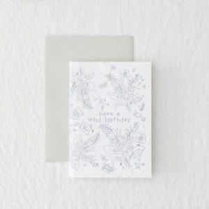 Wild Birthday – Seeded Card