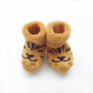 Soft Baby Booties Lucky The Tiger - hektik newborn socks lucky baby 72dpi 1024x1024 500x500