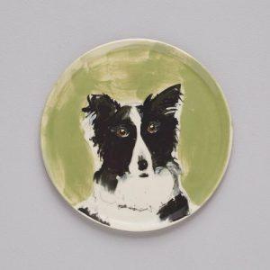 Border Collie plate