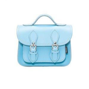 Handmade Leather Micro Satchel - Pastel Baby Blue - micro satchel baby blue 1 1600x1600 500x500