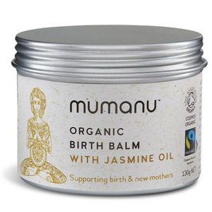 Organic Birth Balm – With Jasmine Oil – Contains Fairtrade Ingredients