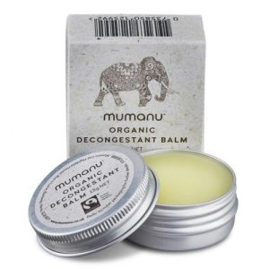 Organic Decongestant Balm – With Fairtrade Ingredients