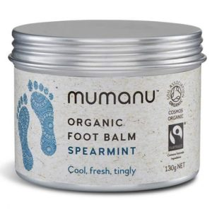 Organic Foot Balm – Spearmint – With Fairtrade Ingredients