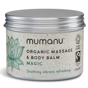 Organic Massage Oil & Body Balm – Magic – With Fairtrade Ingredients