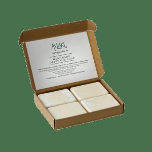 OBLONG set of 4 x 80g Boxed Hard Soap Bars