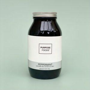 Probiotic Peppermint Tea (Loose Leaf – 75 Cups)