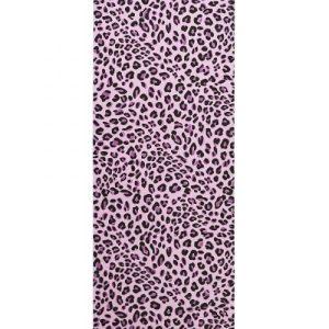 Lux Pink leopard print Yoga mat