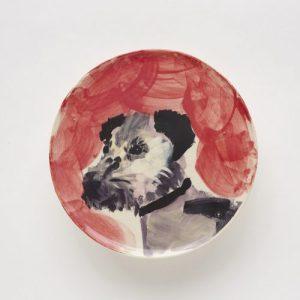 Red Border Terrier plate
