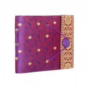 Small Sari Photo Album – Purple