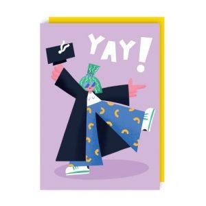 Yay Greeting Card pack of 6 - yay env 500x500
