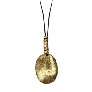 Marilia Capisani Medallion and Beads Long Fashion Necklace