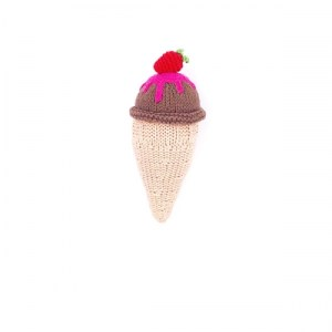 Knitting ice cream - chocolate - 200 027C Kitting ice cream – chocolate 500x500