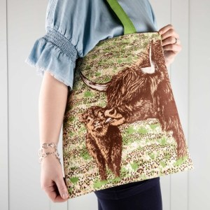 Highland Cow Love Tote Bag