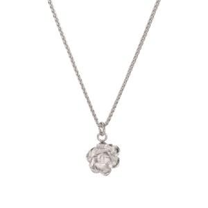 ROSE SUCCULENT CHARM NECKLACE Sterling Silver - 56948E77 0E44 4DB2 8D87 1CB958079485 500x500