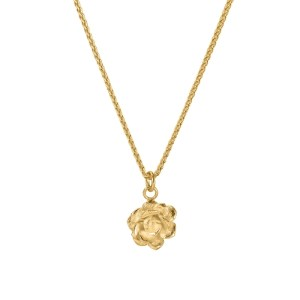 ROSE SUCCULENT CHARM NECKLACE 18ct Gold Vermeil - 61D9FA18 CC7B 4193 9475 62B3AD9B2EF7 500x500