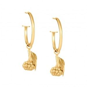 BLACKBERRY HOOP EARRINGS 18ct Gold Vermeil - 64C28B47 478C 4ECF ADB1 426C4BF68C2F 500x500