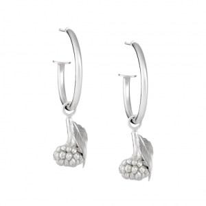 BLACKBERRY HOOP EARRINGS Sterling silver - 80C954FE 0853 405E B60A D8EA25B8BC5A 500x500