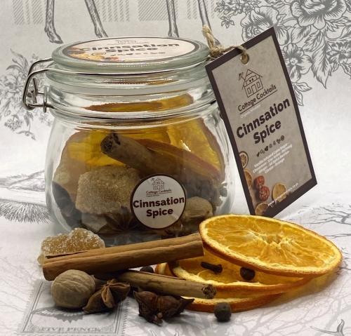 Cinnsation Spice Infusion : 500ml Glass Craft Jar