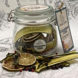 Cucumber Chill Infusion : 500ml Glass Craft Jar