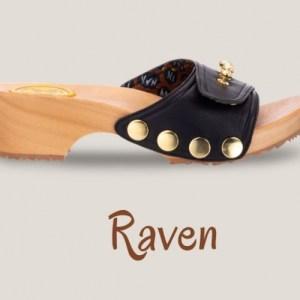 Matte Raven Clogs