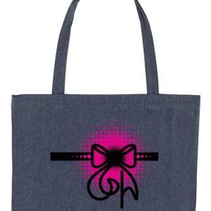 Claudia Fürst • EcoFashion Shopper Bag • Ribbon in BABY Pink