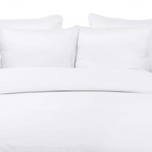 Duvet Cover TENCEL MIST with MIST LINEN PIPING 240x220cm incl 2 Pillow Covers 60x70cm
