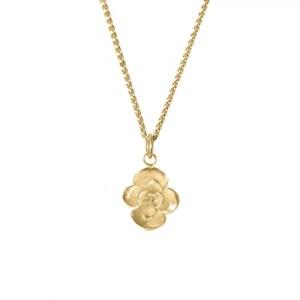 LILY PAD SUCCULENT CHARM NECKLACE 18ct Gold Vermeil - E0055012 F7AC 45A2 AC73 4D1CEC86EA78 500x500