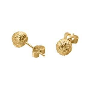 THISTLE STUD EARRINGS 18ct Gold Vermeil - E9DA3878 44EA 4F2F 9400 6EC419A60E6D 500x500