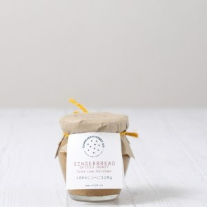 12 x Gingerbread Spiced Honey 120g - GIH120G scaled 1 500x500