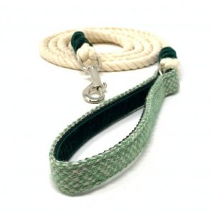 Green & Dove – Harris Design – Rope Lead